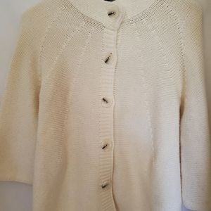 Ashley Judd button up sweater size S